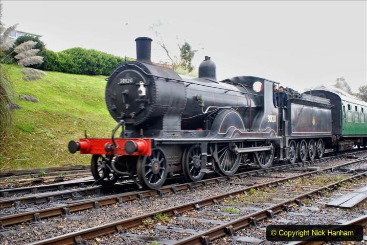 2019-10-11 Six Locomotives for the SR Autumn Steam Gala. (148) 148