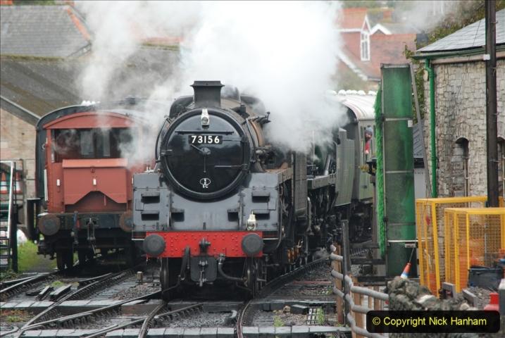 2019-10-11 Six Locomotives for the SR Autumn Steam Gala. (157) 157