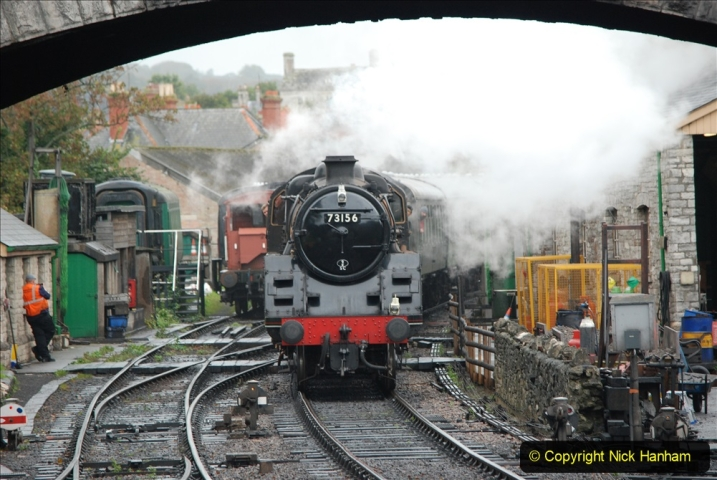 2019-10-11 Six Locomotives for the SR Autumn Steam Gala. (158) 158