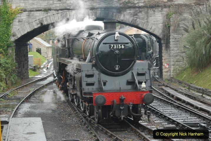 2019-10-11 Six Locomotives for the SR Autumn Steam Gala. (159) 159