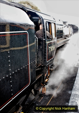 2019-10-11 Six Locomotives for the SR Autumn Steam Gala. (167) 167