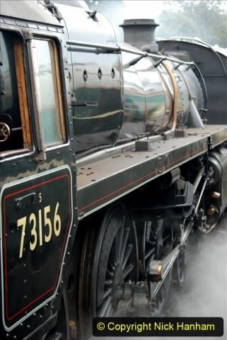 2019-10-11 Six Locomotives for the SR Autumn Steam Gala. (170) 170