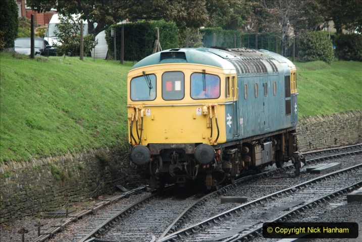 2019-10-11 Six Locomotives for the SR Autumn Steam Gala. (172) 172