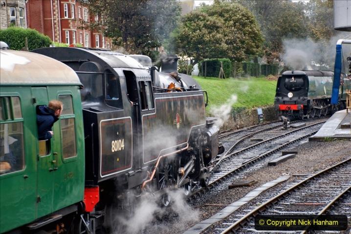 2019-10-11 Six Locomotives for the SR Autumn Steam Gala. (182) 182
