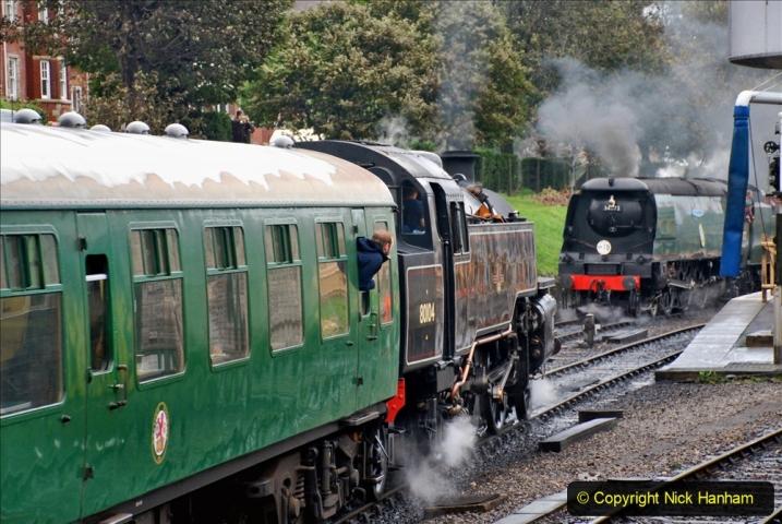 2019-10-11 Six Locomotives for the SR Autumn Steam Gala. (183) 183