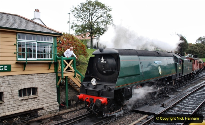 2019-10-11 Six Locomotives for the SR Autumn Steam Gala. (188) 188