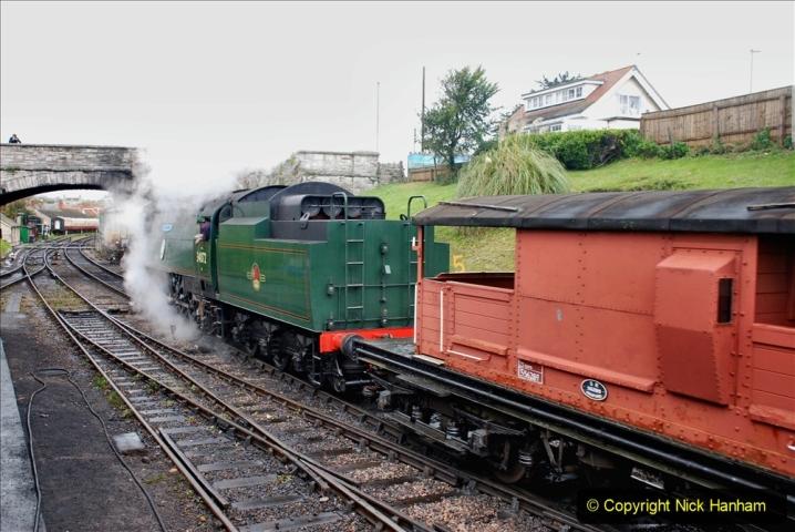 2019-10-11 Six Locomotives for the SR Autumn Steam Gala. (191) 191