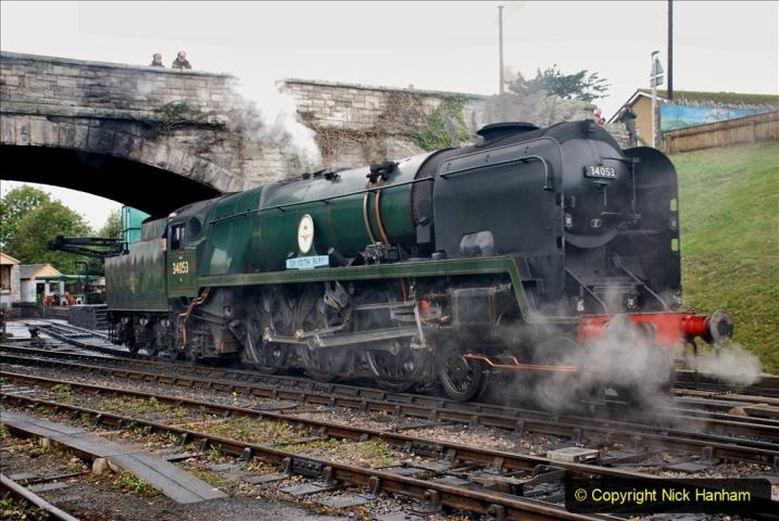 2019-10-11 Six Locomotives for the SR Autumn Steam Gala. (198) 198