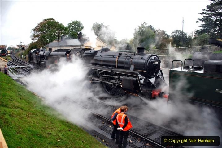 2019-10-11 Six Locomotives for the SR Autumn Steam Gala. (25) 025