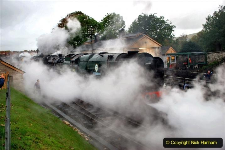 2019-10-11 Six Locomotives for the SR Autumn Steam Gala. (26) 026