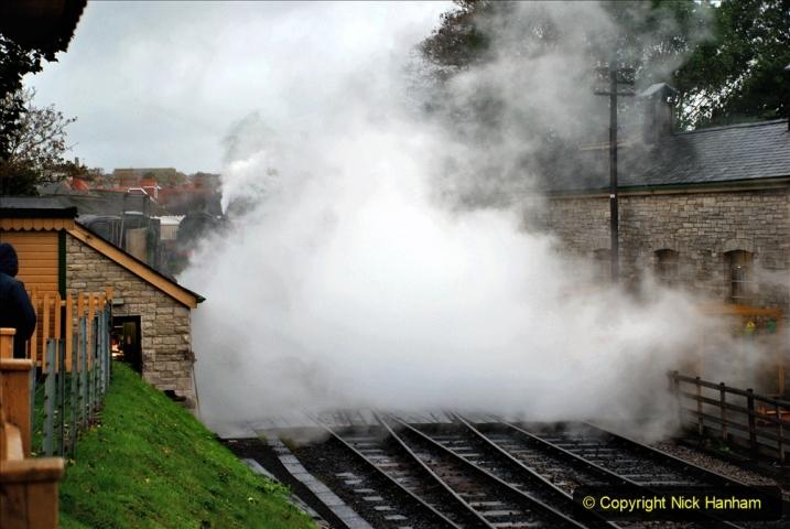 2019-10-11 Six Locomotives for the SR Autumn Steam Gala. (27) 027