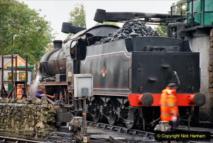 2019-10-11 Six Locomotives for the SR Autumn Steam Gala. (50) 050