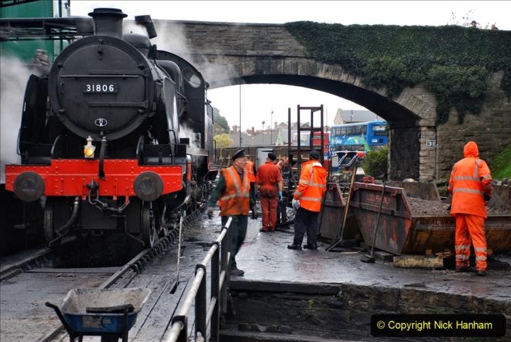 2019-10-11 Six Locomotives for the SR Autumn Steam Gala. (55) 055