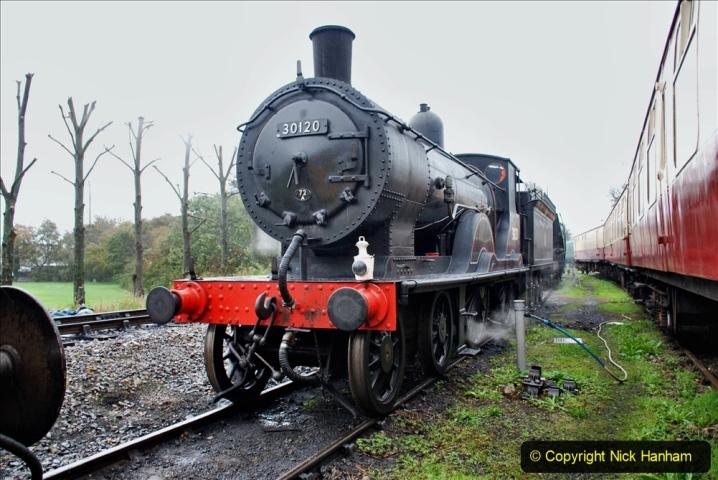 2019-10-11 Six Locomotives for the SR Autumn Steam Gala. (63) 063