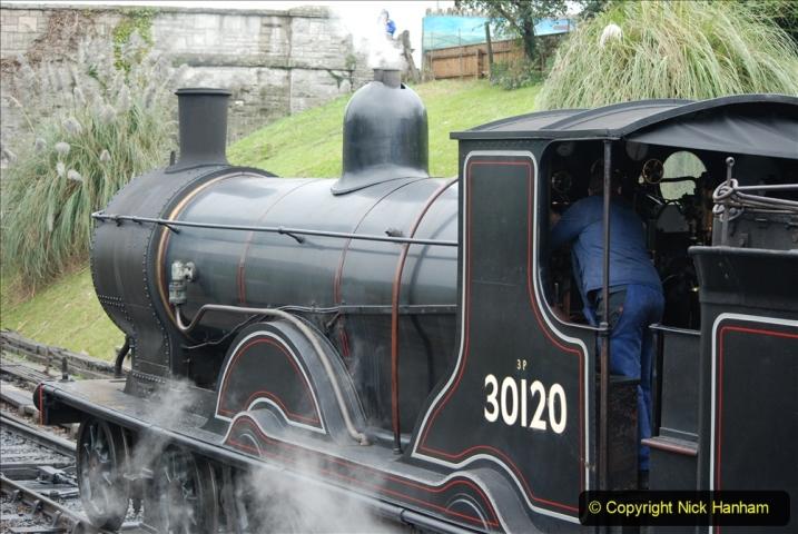 2019-10-11 Six Locomotives for the SR Autumn Steam Gala. (71) 071