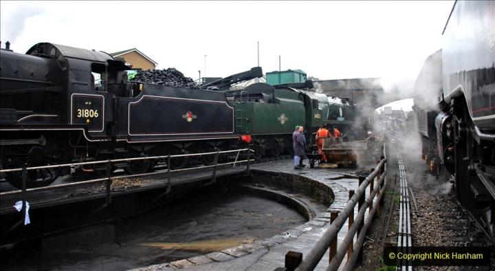 2019-10-11 Six Locomotives for the SR Autumn Steam Gala. (8) 008