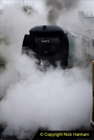2019-10-11 Six Locomotives for the SR Autumn Steam Gala. (81) 081