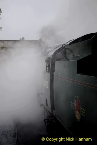 2019-10-11 Six Locomotives for the SR Autumn Steam Gala. (83) 083