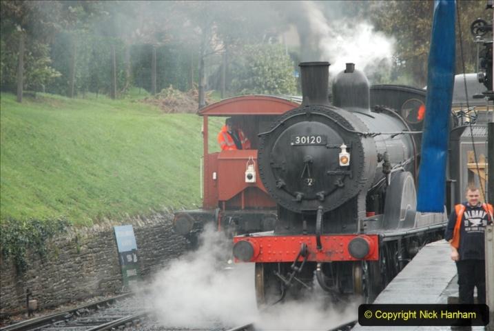 2019-10-11 Six Locomotives for the SR Autumn Steam Gala. (86) 086