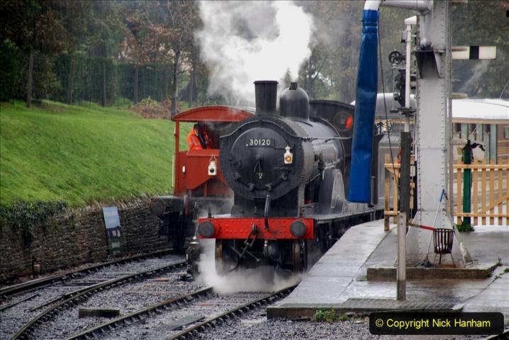 2019-10-11 Six Locomotives for the SR Autumn Steam Gala. (87) 087