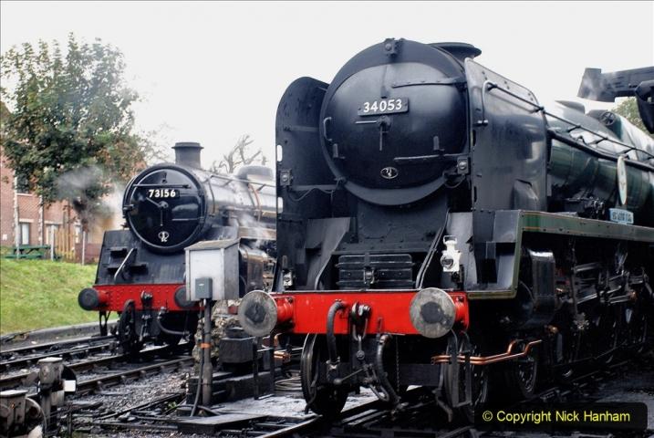 2019-10-11 Six Locomotives for the SR Autumn Steam Gala. (9) 009