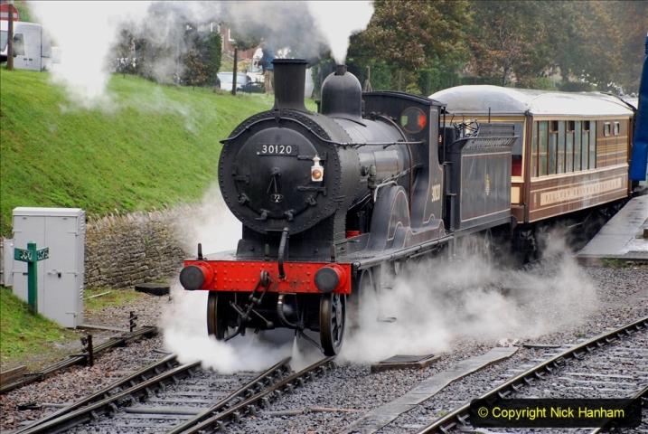 2019-10-11 Six Locomotives for the SR Autumn Steam Gala. (90) 090