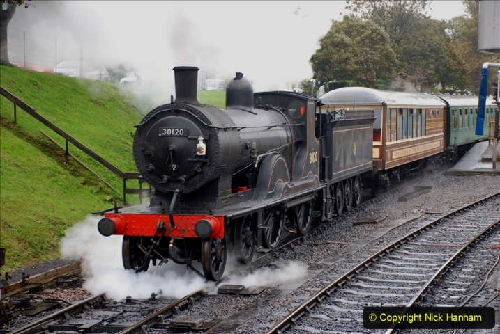 2019-10-11 Six Locomotives for the SR Autumn Steam Gala. (91) 091