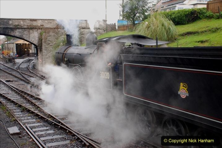 2019-10-11 Six Locomotives for the SR Autumn Steam Gala. (94) 094