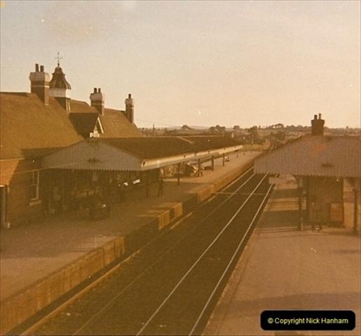 1973 The Swanage Railway.  At Wareham. (1)0001