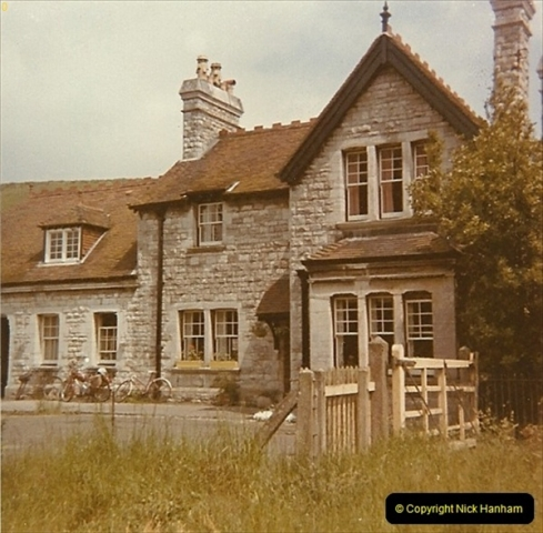 1973 The Swanage Railway.  Corfe Castle. (6)0006