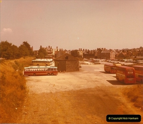 1973 The Swanage Railway.  Demolition of platform etc. Swanage. (7)0007