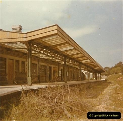 1973 The Swanage Railway.  Swanage. (12)0012