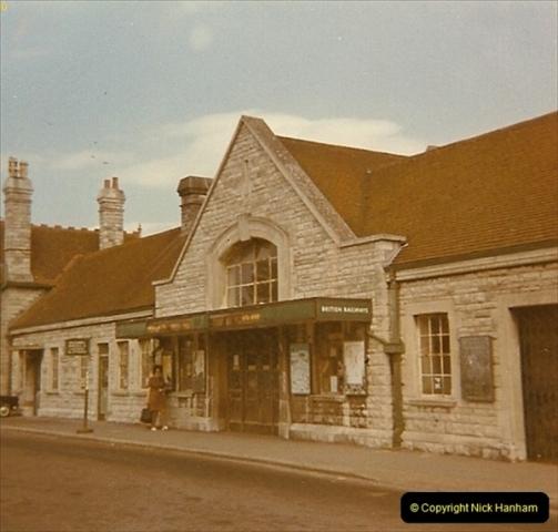 1973 The Swanage Railway.  Swanage. (14)0014