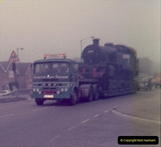 1976 September 80078 comes to the SR from Barry, South Wales.  (7)0022