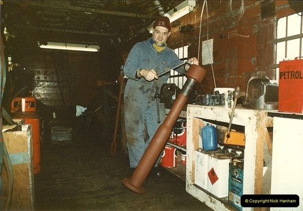 1984-02-20 Your Host working on 80078.  (1)0210