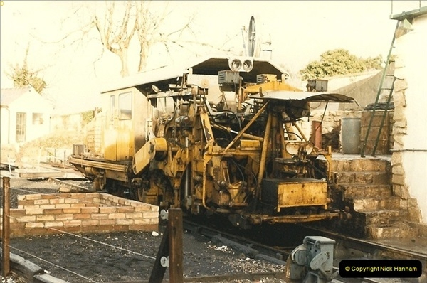 1984-12-27 the first tamper on the SR.  (1)0262