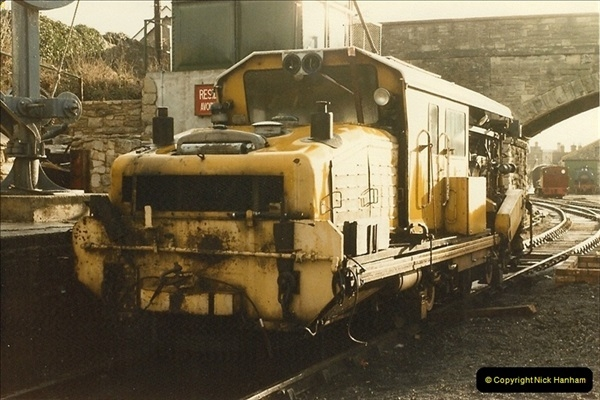 1984-12-27 the first tamper on the SR.  (2)0263