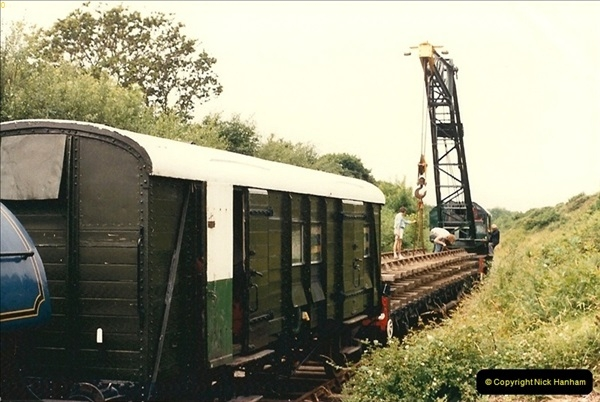1986-07-25 More extension work towards Harmand X.  (4)0408