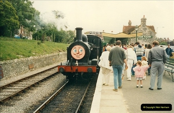 1988-06-11 to 12 Thomas Weekend. Your Host acting as relief driver on the 08, 21 and 41708.  (3)0557