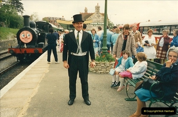 1988-06-11 to 12 Thomas Weekend. Your Host acting as relief driver on the 08, 21 and 41708.  (4)0558