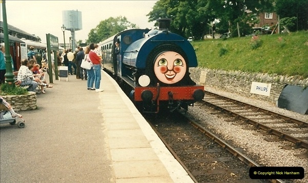 1988-06-11 to 12 Thomas Weekend. Your Host acting as relief driver on the 08, 21 and 41708.  (5)0559