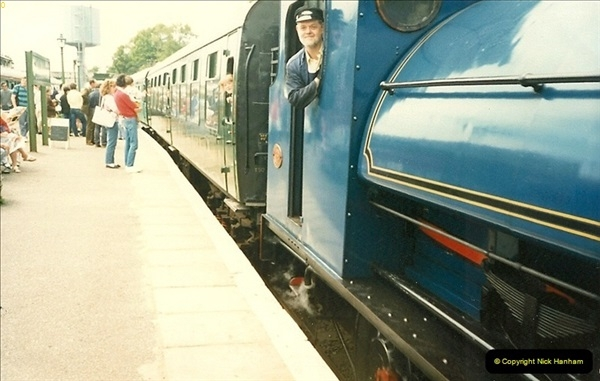 1988-06-11 to 12 Thomas Weekend. Your Host acting as relief driver on the 08, 21 and 41708.  (6)0560