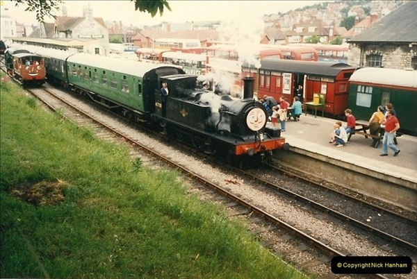 1988-06-11 to 12 Thomas Weekend. Your Host acting as relief driver on the 08, 21 and 41708.  (8)0562