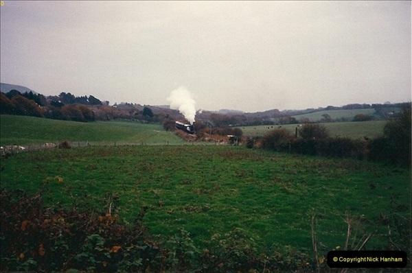 1988-11-19 Crew training Swanage to Harmans X.  (1)0607