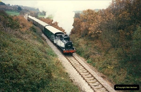 1988-11-19 Crew training Swanage to Harmans X.  (2)0608