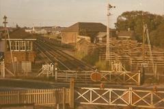 1973 The Swanage Railway.  At Wareham. (2)0002