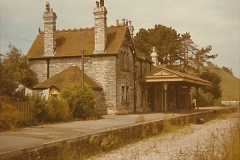1973 The Swanage Railway.  Corfe Castle. (5)0005