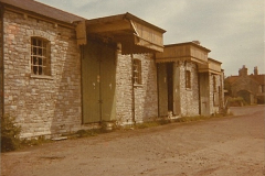 1973 The Swanage Railway.  Swanage goods shed. (9)0009