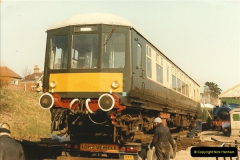 1985-03-12 The first DMU on the SR.  (3)0266