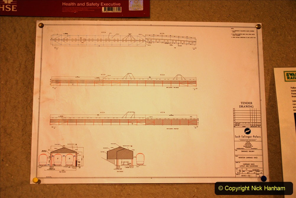 2019-10-31 Last day of October on the SR. (1) Proposed new carriage shed plan for Herston. 001